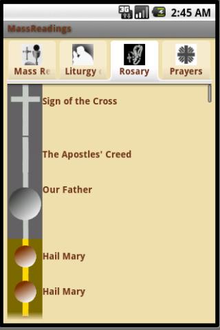 MassReadings Rosary
