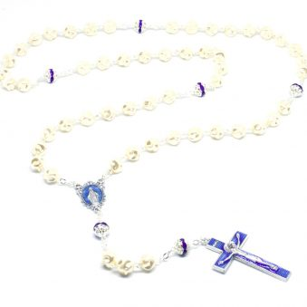 Luxurious Pearl Cobalt Rosary